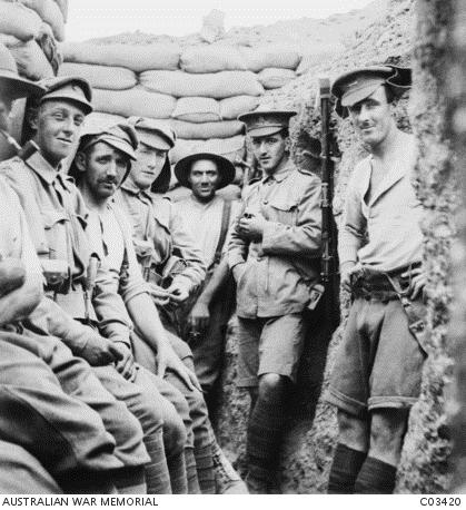 Australians at the Great War