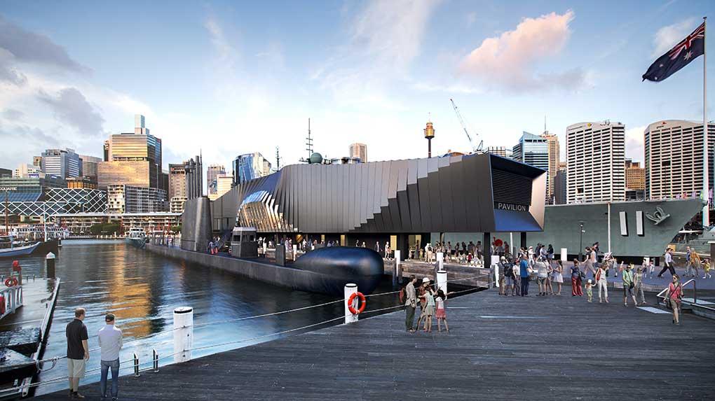 Warships (Royal Australian Navy) Pavilion