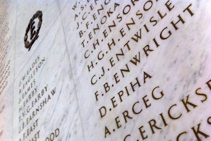 More than a name – Cenotaph